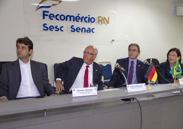 Também participaram da visita o diretor-secretário da Fecomércio, Dijosete  Veríssimo da Costa  o diretor Executivo da Fecomércio RN, Jaime Mariz  ... 4ecadb3df8