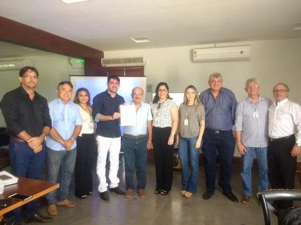 """73b08ebe899 """"Essa licença significa a chave para o desenvolvimento do projeto que  ampliará os horizontes não só do município de Macaíba"""