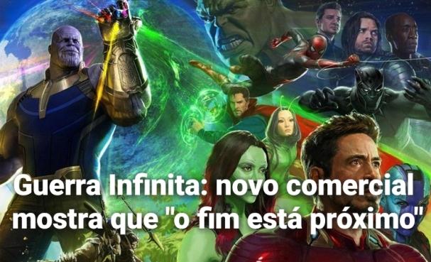 c8eeffdaa2e ingadores  Guerra Infinita estreia em 26 de abril de 2018. O filme solo da  Capitã Marvel chega em março de 2019 e Vingadores 4 em maio do mesmo ano.