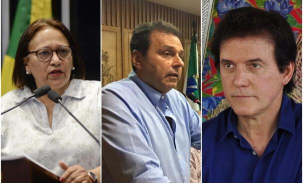 Resultado de imagem para Pesquisa Ibope no RN: Fátima Bezerra (PT), 34%, Carlos Eduardo (PDT), 15%; Robinson Faria (PSD), 8%