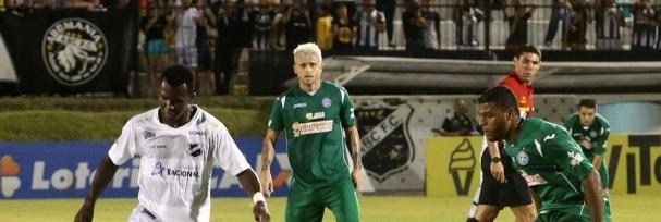 bbb30db838 ... uma vitória do Guarani pelo escore de 6 x O