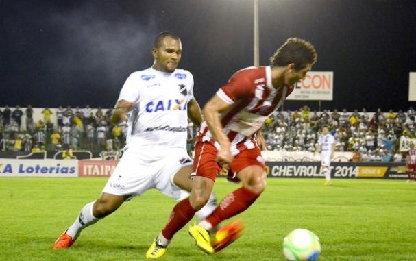 Abc perdeu quarta partida jogando em casa contra o Náutico (Foto   Wellington Araújo) ea418e9992fef