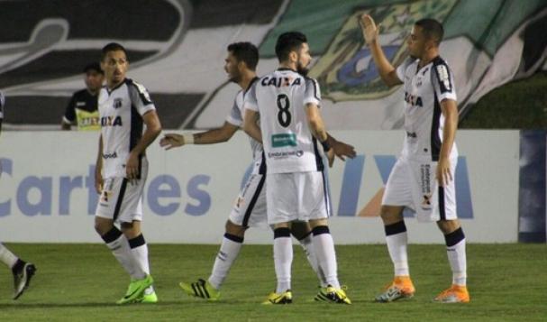 a52670b2f37e9 Jogadores do Ceará comemoram gol da vitória (Foto  Ceará Sporting Club)
