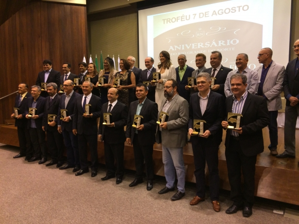 Os homenageados foram escolhidos por meio de votos de jornalistas do RN.  (Foto  Danilo Bezerra) a29f6677a7b50